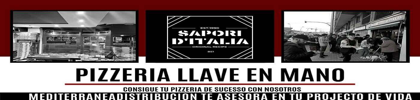 Pizzeria llave en mano