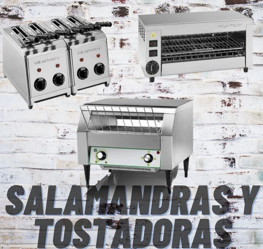 SALAMANDRAS Y TOSTADORAS www.mediterraneadistribucion.com